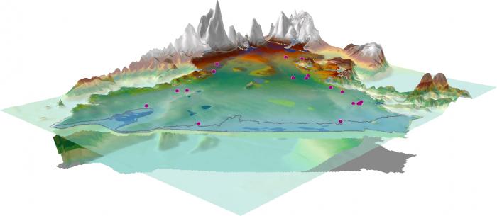 Modèle hydrogéologique de la nappe de la Crau